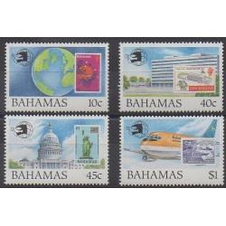 Bahamas - 1989 - No 699/702 - Timbres sur timbres