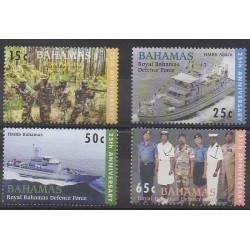 Bahamas - 2005 - No 1199/1202 - Histoire militaire