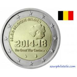 Belgique - 2014 - Centenaire de la 1ère Guerre Mondiale