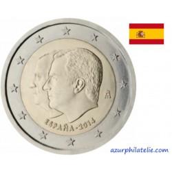 Espagne - 2014 - Juan Carlos I et Felipe VI