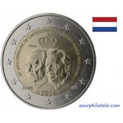 Luxembourg - 2014 - 50ème anniversaire de l'accession au trône du grand duc Jean