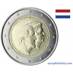 Pays-Bas - 2014 - Willem-Alexander & Beatrix