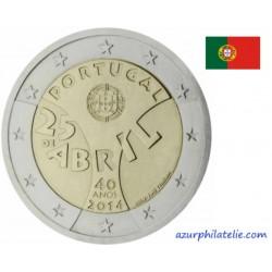 Portugal - 2014 - 40ème anniversaire de la révolution des oeillets