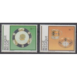 Belgium - 1994 - Nb 2566/2567 - Art
