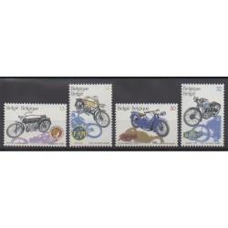 Belgium - 1995 - Nb 2615/2618 - Motorcycles