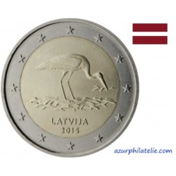 Lettonie - 2015 - La Cigogne