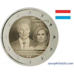 Luxembourg - 2015 - 15ème anniversaire de l'accession au trône du Grand-Duc