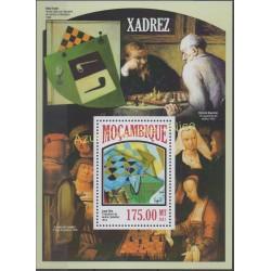 Timbres - Thème échecs - Mozambique - 2013 - No BF 761