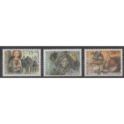 Belgium - 1992 - Nb 2465/2467 - Literature