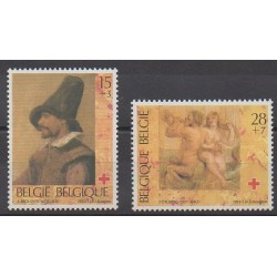 Belgium - 1993 - Nb 2489/2490 - Paintings - Health
