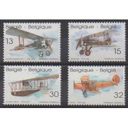Belgium - 1994 - Nb 2540/2543 - Planes