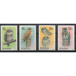 Zimbabwe - 1987- No 134/137 - Rapaces