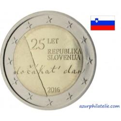Slovénie - 2016 - 25ème anniversaire de l'indépendance de la République de Slovénie