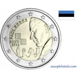 Estonie - 2016 - 100ème anniversaire de la Naissance de Paul Kérès