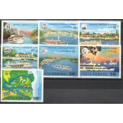 Roumanie - 1977- No 3078/3084 - Bateaux
