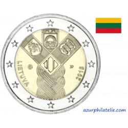 Lituanie - 2018 - Les 100 ans de la fondation des Etats baltes indépendants