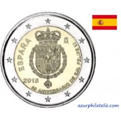 Espagne - 2018 - 50e anniversaire du roi Philip VI