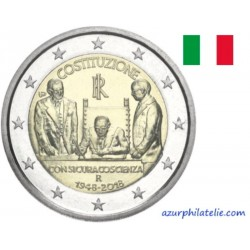 Italie - 2018 - Le 70e anniversaire de l'entrée en vigueur de la Constitution italienne