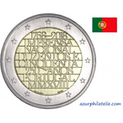 Portugal - 2018 - 250 ans de la Monnaie nationale (INCM)