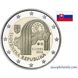Slovaquie - 2018 - 25 ans de la création de la République slovaque