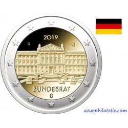 Allemagne - 2019 - 70 ans de la fondation du Bundesrat