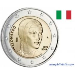 Italie - 2019 - 500 ans de la mort de Léonard de Vinci