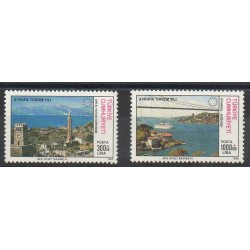 Turquie - 1990- No 2632/2633 - Sites
