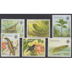 Seychelles - 2000 - No 848/853 - Animaux
