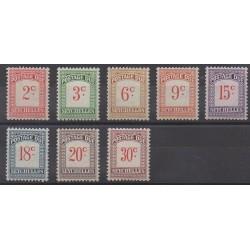 Seychelles - 1951 - Nb T1/T8