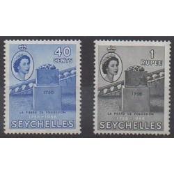 Seychelles - 1956 - Nb 182/183