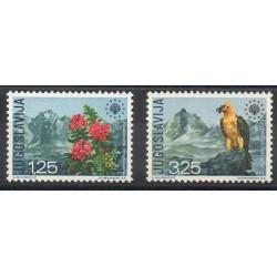 Yougoslavie - 1970- No 1291/1292 - Environnement