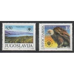 Yougoslavie - 1990- No 2317/2318 - Environnement