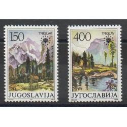 Yougoslavie - 1987- No 2090/2091 - Environnement