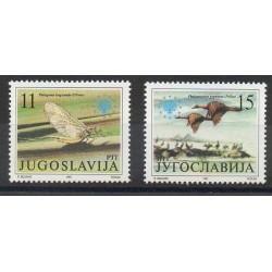 Yougoslavie - 1991- No 2367/2368 - Environnement
