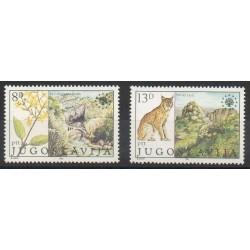 Yougoslavie - 1981- No 1794/1795 - Environnement