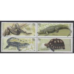 Argentina - 2002 - Nb 2330/2333 - Reptils