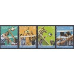 Argentina - 2002 - Nb 2338/2341 - Various sports