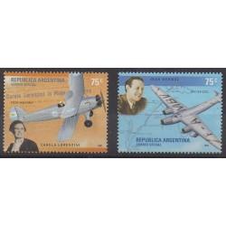Argentina - 2001 - Nb 2275/2276 - Planes