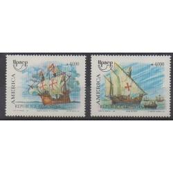 Argentina - 1991 - Nb 1755/1756 - Boats