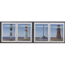 Argentina - 1997 - Nb 1967/1970 - Lighthouses