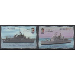 Argentina - 1997 - Nb 1956/1957 - Boats