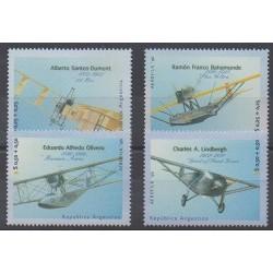 Argentina - 1996 - Nb 1934/1937 - Planes