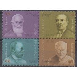 Argentine - 1996 - No 1924/1927 - Santé ou Croix-Rouge