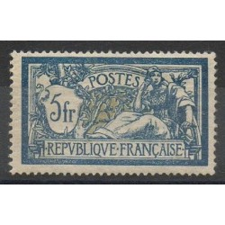 France - Varieties - 1900 - Nb 123a - Mint hinged