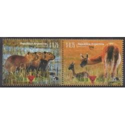 Argentine - 1996 - No 1930/1931 - Mammifères