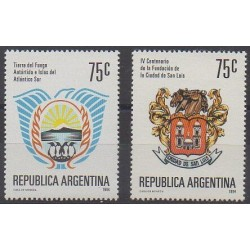 Argentina - 1994 - Nb 1853/1854 - Coats of arms