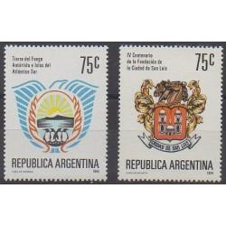 Argentine - 1994 - No 1853/1854 - Armoiries
