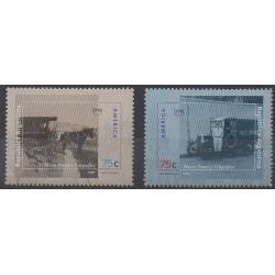 Argentine - 1995 - No 1891/1892 - Service postal