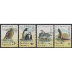 Argentina - 1994 - Nb 1849/1852 - Animals