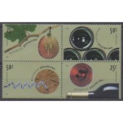 Argentine - 2000 - No 2151/2154 - Gastronomie